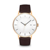Men's The Classic Watch - Rose Gold/Mocha / 41mm