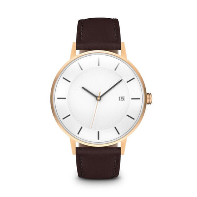 Men's The Classic Watch - Rose Gold/Mocha / 38mm