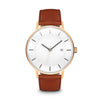 Men's The Classic Watch - Rose Gold/Tan / 41mm