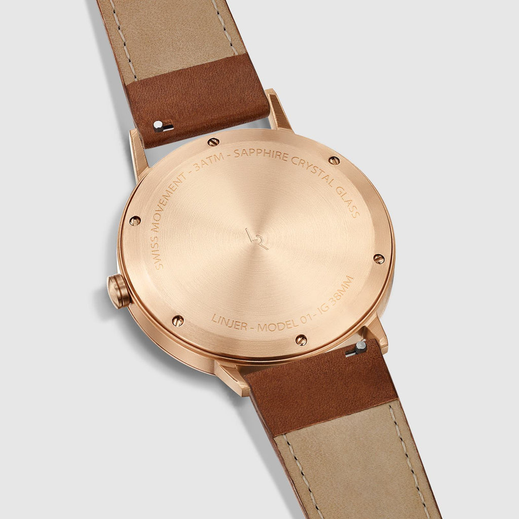 Rose Gold/Tan