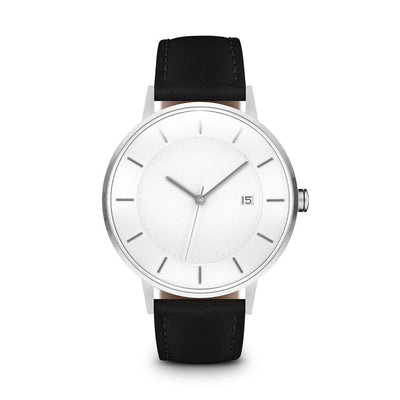 Men's The Classic Watch - Silver/Black / 38mm