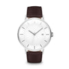 Men's The Classic Watch - Silver/Mocha / 41mm