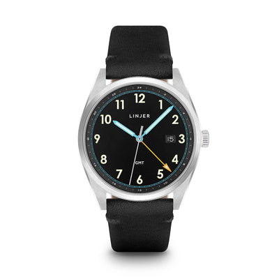 The GMT Watch - Black