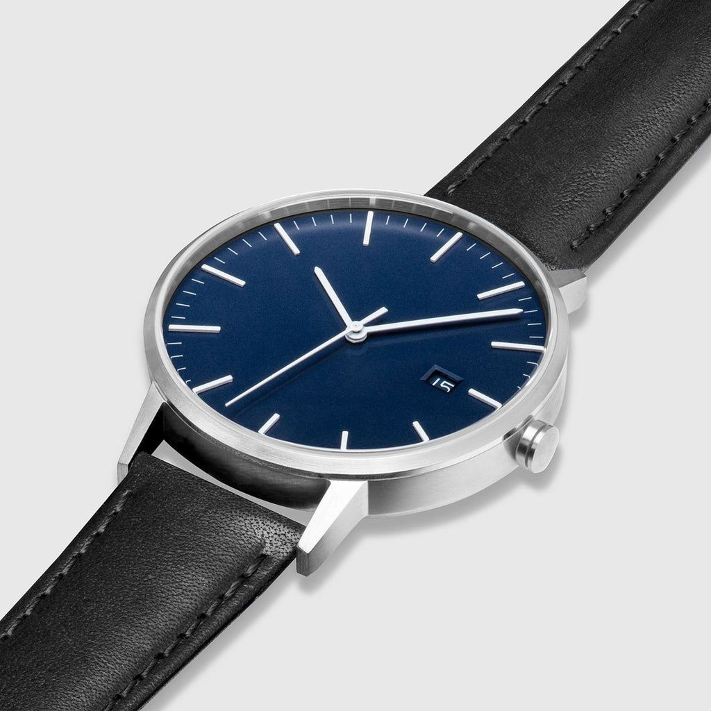 Blue Dial, Silver/Black - LIMITED EDITION