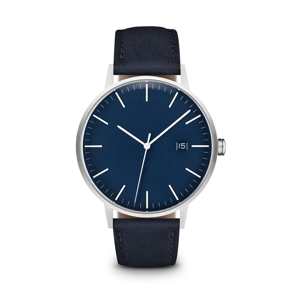 Blue Dial, Silver/Navy - LIMITED EDITION