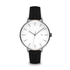 Women's The Minimalist Watch - Gunmetal/Black / 38mm