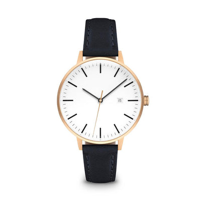 Women's The Minimalist Watch - Rose Gold/Navy / 34mm