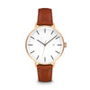 Women's The Minimalist Watch - Rose Gold/Tan / 38mm