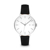 Women's The Minimalist Watch - Silver/Black / 38mm
