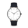 Men's The Minimalist Watch - Gunmetal/Navy / 41mm