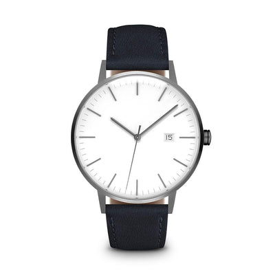 Men's The Minimalist Watch - Gunmetal/Navy / 38mm