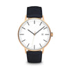Men's The Minimalist Watch - Rose Gold/Navy / 41mm