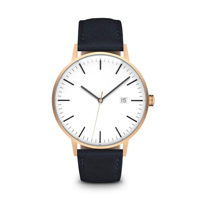 Men's The Minimalist Watch - Rose Gold/Navy / 38mm
