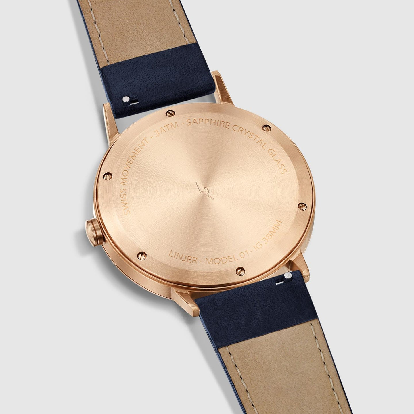 Rose Gold/Navy