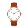 Men's The Minimalist Watch - Rose Gold/Tan / 41mm