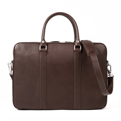 The Soft Briefcase - Mocha
