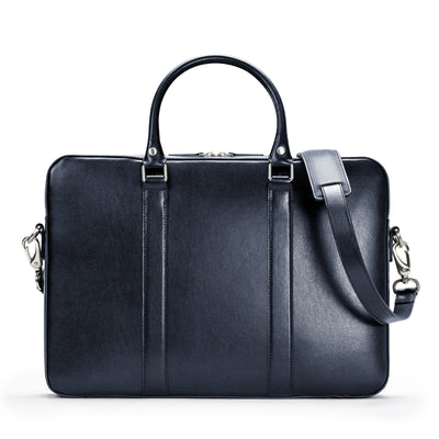 The Soft Briefcase - Navy