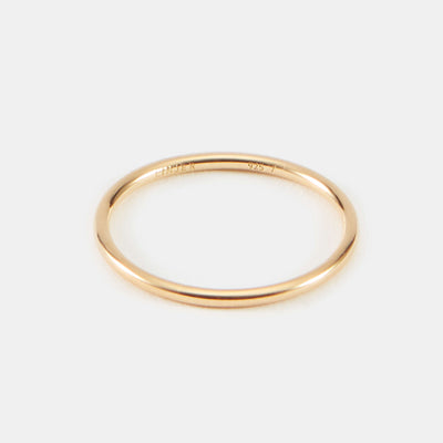Liv Stacker Ring - Gold Vermeil / 4