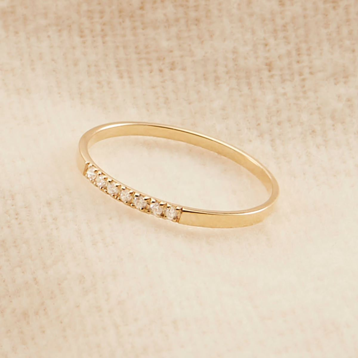 14k Solid Gold, Diamond