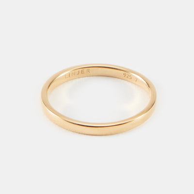 Nina Stacker Ring - Gold Vermeil / 4