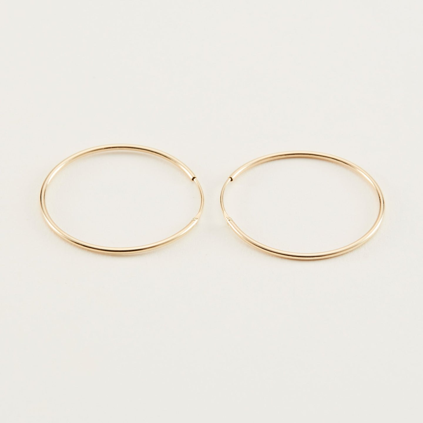 14k Solid Gold, 25mm
