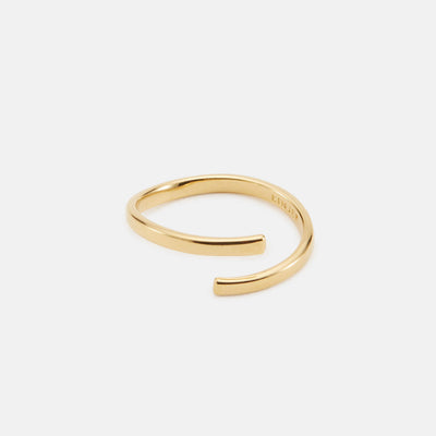 Siri Wrap Ring - Gold Vermeil / 4