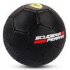 FERRARI #5 MACHINE SEWN SOCCER BALL - BLACK