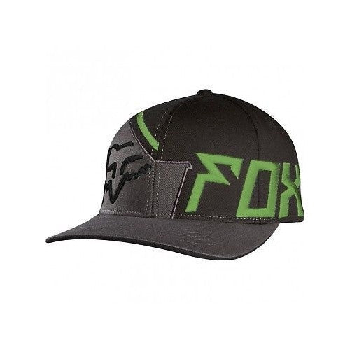 Fox Intake Flexfit Hat Black/Army Green
