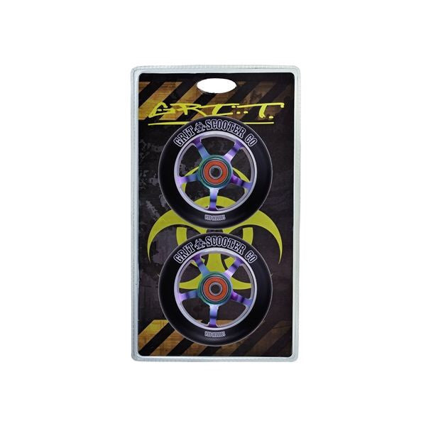 Grit 100mm 5 spoke alloy