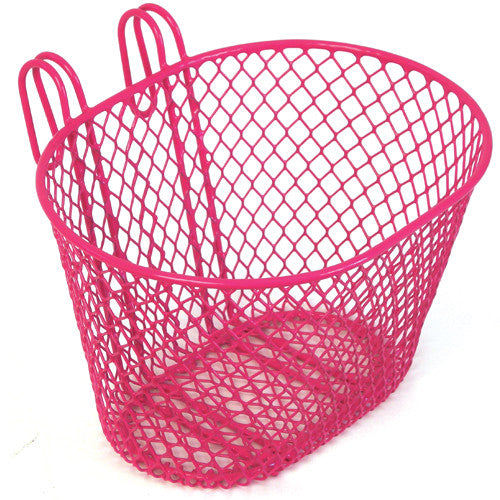 Bikecorp SMALL WIRE FRONT BASKET PINK