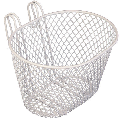Bikecorp SMALL WIRE FRONT BASKET WHITE