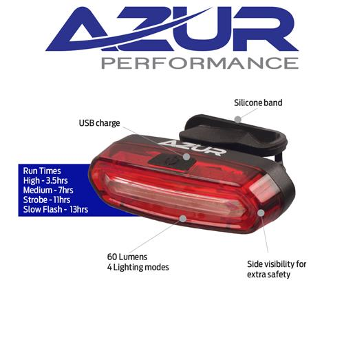 Azur USB Pro 60 Tail Light