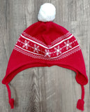 Angel Dear Cable Pilot Hat- Holiday