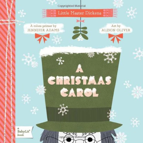 """A Christmas Carol"" Board Book- Cute as a Button Baby Boutique"