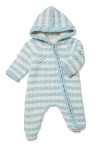 Angel Dear Sherpa Hooded Footie- Multiple Colors