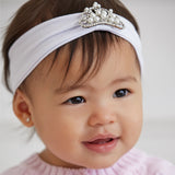 Elegant Baby Tiara Headbands -Multiple Colors- Cute as a Button Baby Boutique