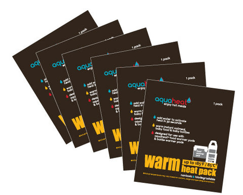 AQUAHEAT™ Warm Heat Packs (Set of 6)- Cute as a Button Baby Boutique