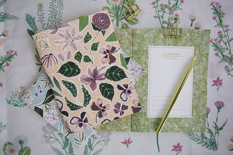Lulie Wallace Falling Flowers Notebook Set