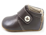 Livie & Luca Benny Baby Boot Brown- Multiple Sizes- Cute as a Button Baby Boutique