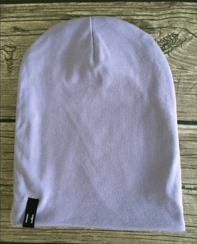 Beau Hudson Bandit Beanie- Lilac- Cute as a Button Baby Boutique