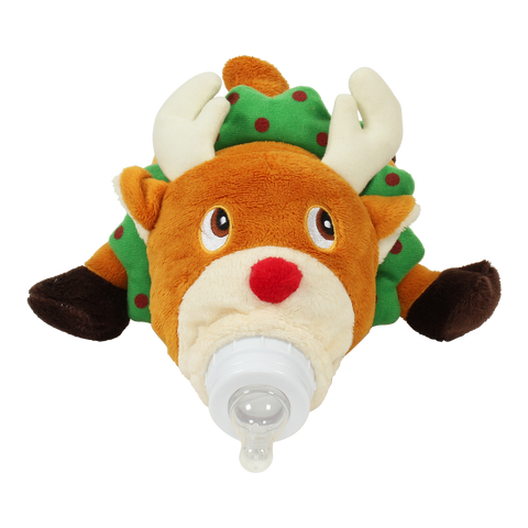 Bottle Pet- Reindeer- Cute as a Button Baby Boutique