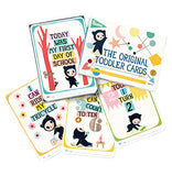 Milestone Toddler Cards- Cute as a Button Baby Boutique