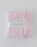 Little Unicorn Chenille Luxury Receiving Blanket- Pink