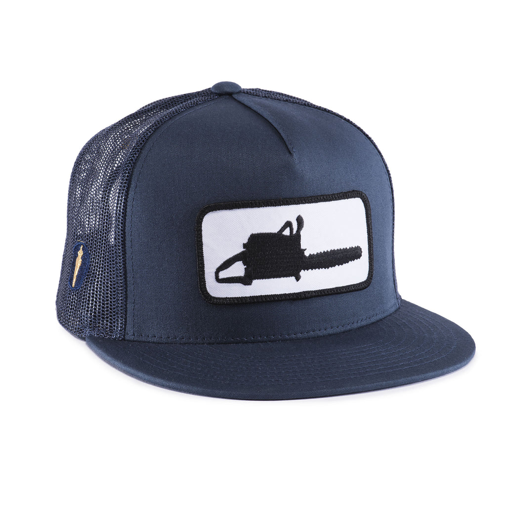 CHAINSAW MESH HAT Navy Blue