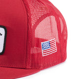 WRK MESH HAT Red