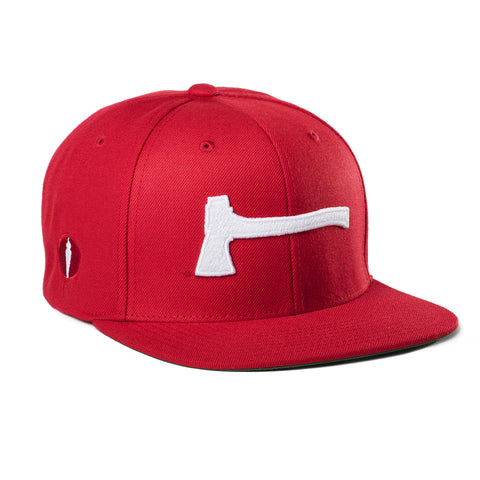Ax Hat Red