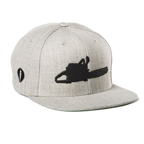 Chainsaw Hat Gray