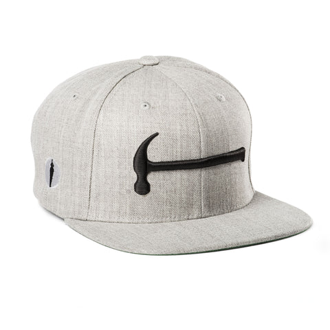 Hammer Hat Gray