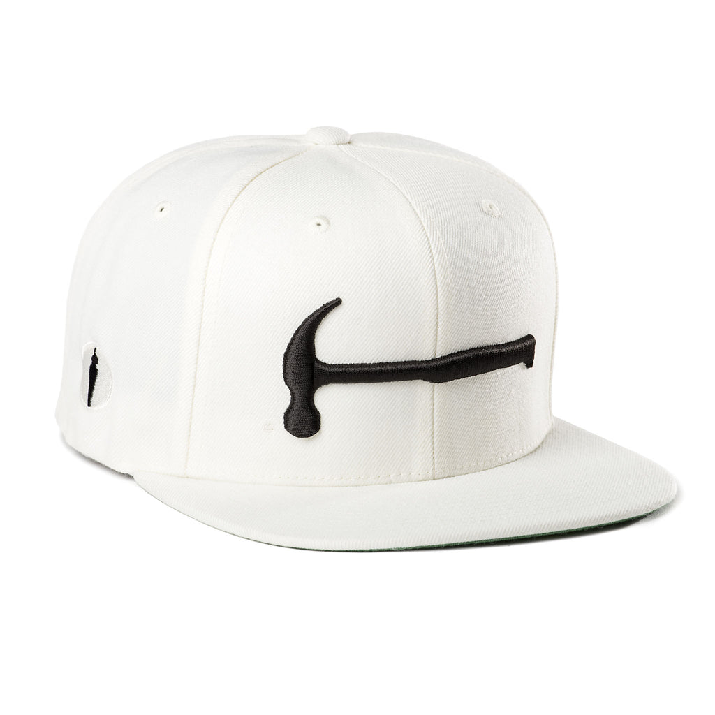 Hammer Hat White