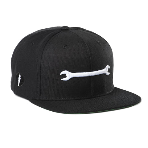 Wrench Hat Black
